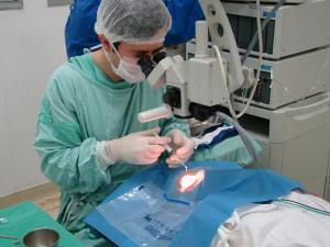 Santa Casa de Misericórdia de Tatuí faz cirurgias de catarata.