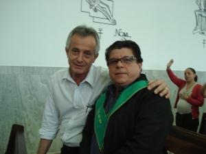 Voss e Paulo Fernandes Pires em de Frei Galvão