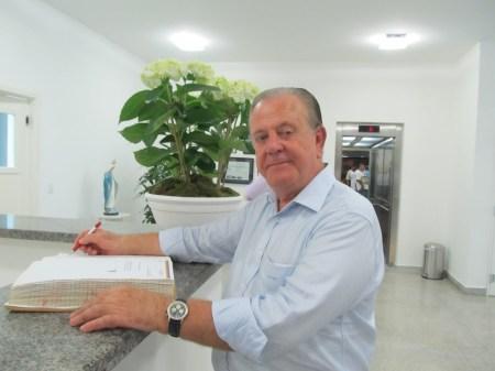 Ex-prefeito Luiz Gonzaga Vieira de Camargo.