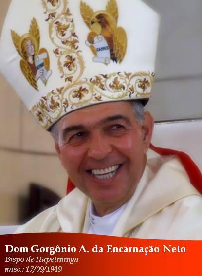 Dom Gorgônio (foto site da Diocese de Itapetininga