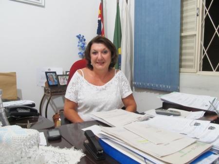 Delegada Sonia Camargo, titular da Delegacia da Defesa da Mulher