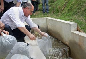 Governado Alckmin inaugura obra em Boituva.