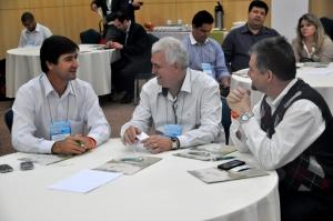 Edson Marcusso e prefeitos da região.