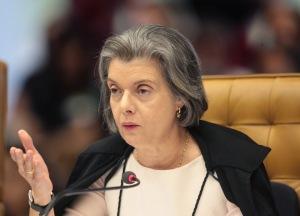 Ministra Cármen Lúcia - foto Carlos Humberto, STF.
