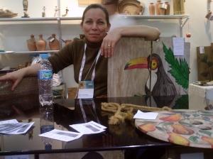 Marta Silveira já tem seu trabalho reconhecido até no exterior.