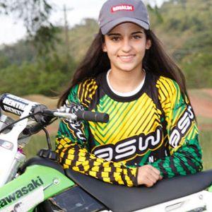 Monique Camargo sofreu grave acidente na pista de Tatuí (foto do site ASW Racing).