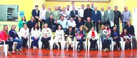 Rotary Foto oficial 66 anos do RC Tatuí