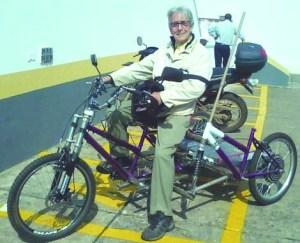 Triciclo de Giuseppe Wolf.