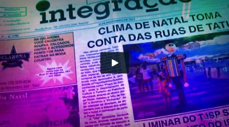 Clique e assista um vídeo dos 38 anos do Integração.