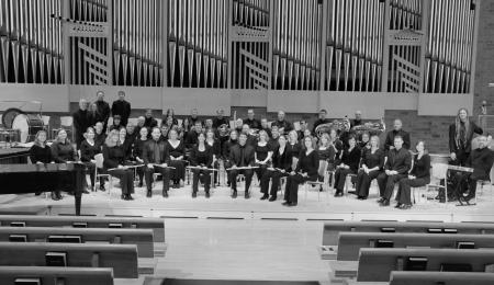 Grand Symphonic Winds (Foto disponibilizada pela Assessoria de Imprensa do Conservatório de Tatuí).