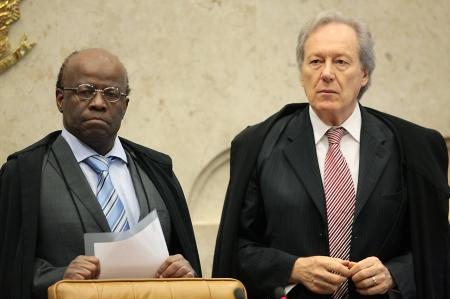 Ministro Joaquim Barbosa ou Ricardo Lewandowski podem decidir o caso de Tatuí. Foto: Carlos Humberto - STF.