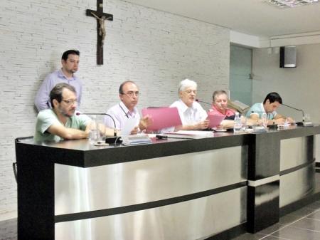 Vereadores reuniram-se três vezes no período de uma semana. Foto: AI/Câmara Municipal de Tatuí
