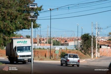 Radares Crédito: Comunicação Tatuí/Evandro Ananias.