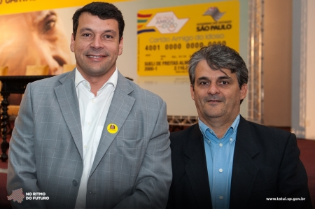 Prefeito Manu e Márcio Fernandes, novo secretário.