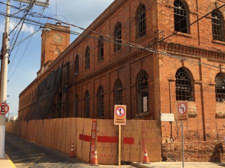 Arquitetura de fábrica de 1908 deverá ser preservada.