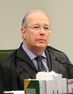 Ministro Celso de Mello em foto de Carlos Hmberto - STF