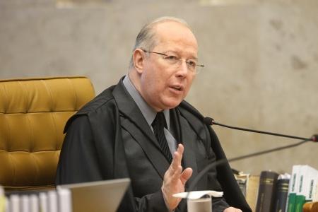 Ministro Celso de Mello - Foto Carlos Humberto.