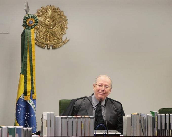 Celso de Mello em foto de Rosinei Coutinho - STF