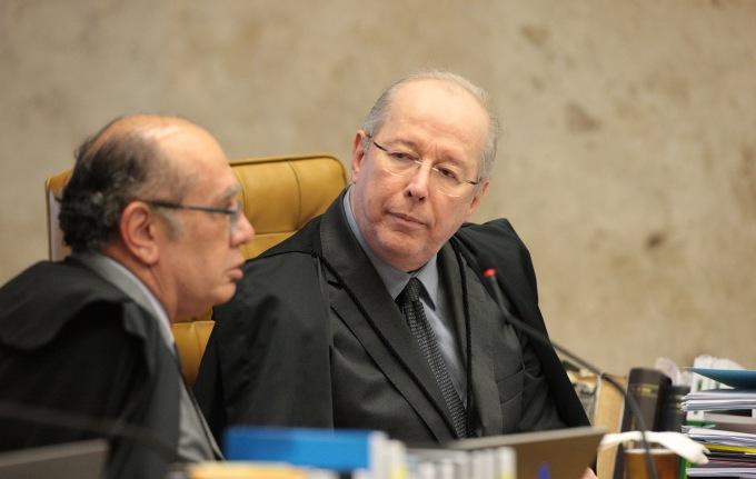 Gilmar Mendes e ministro Celso de Mello site -Carlos Moura-STF