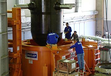 Em Aramar parte do Programa Nuclear da Marinha. site