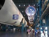Apollo 11 em exibição no Kennedy Space Center