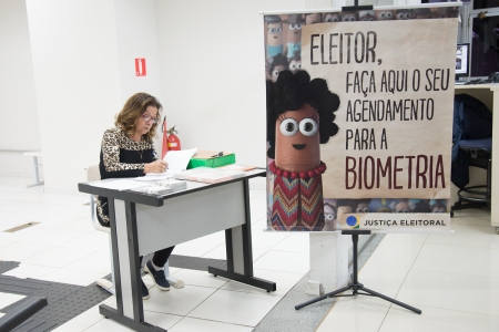 BIOMETRIA NO PAÇO